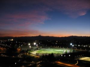 Parco Colonnetti, foto notturna. © EUT 10.