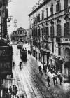 Via Roma prima delle trasformazioni anni '30. Fotografia databile prima degli anni Venti © Archivio Storico della Città di Torino (FT 13D15_016)