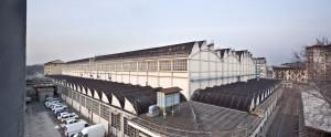 Officina di manutenzione per l'Azienda Tranvie Municipali di Torino