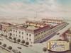 Lo stabilimento Pastiglie Leone di corso Regina Margherita negli Anni Cinquanta. ©Archivio Pastiglie Leone.