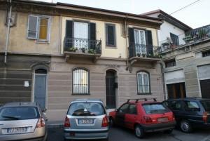 La casa di via Favria 13. Fotografia di Giuseppe Beraudo, 2010.