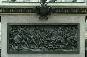 Carlo Marocchetti, Monumento a Emanuele Filiberto (particolare del fregio), 1838. Fotografia di Dario Lanzardo, 2010. © MuseoTorino.