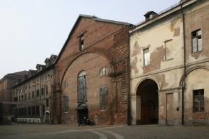 Il prospetto orientale del complesso. Fotografia di Enrico Lusso per Museo Torino