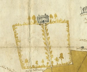 Pianta di tutta la campagna di Miraflores, 163. © Archivio Storico della Città di Torino