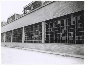 Corso Giovanni Agnelli. Fiat Mirafiori. Effetti prodotti dai bombardamenti del 4-5 dicembre 1940. UPA 0934D_9A01-58. © Archivio Storico della Città di Torino