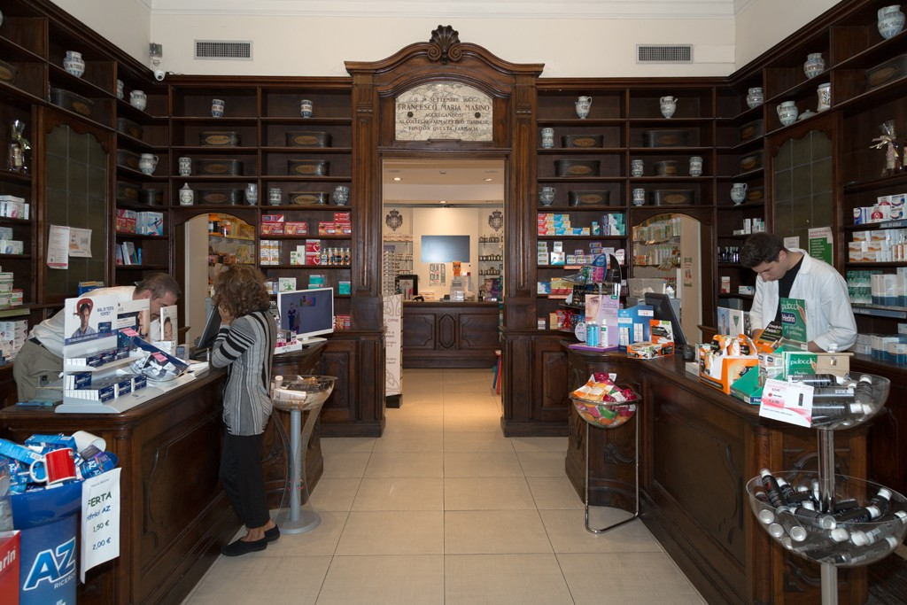 Credenza Da Farmacia : Regia farmacia masino museotorino