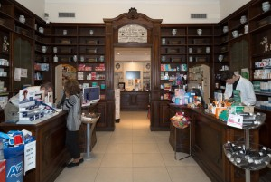 Regia Farmacia Masino, interno, 2016 © Archivio Storico della Città di Torino