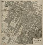 Pianta di Torino, 1910 circa