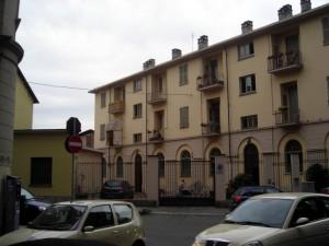 Stabile di via Santa Giulia 58. Fotografia di Silvia Bertelli.