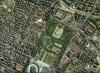Immagine aerea della piazza d'armi.