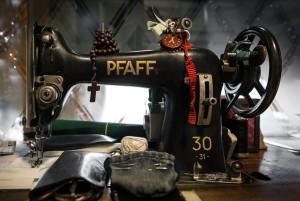 Primavera, particolare della macchina da cucire, 2017 © Archivio Storico della Città di Torino
