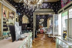 Profumeria Tina Bigiotteria, vista dell'interno, 2018 © Archivio Storico della Città di Torino