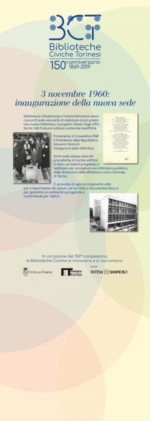 1869-2019. 3 novembre 1960: inaugurazione della nuova sede