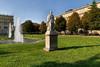 Giovanni Albertoni, Monumento a Eusebio Bava (veduta), 1856. Fotografia di Mattia Boero, 2010. © MuseoTorino.