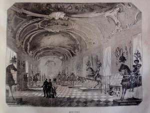 Armeria Reale, litografia Chiapporri, da
