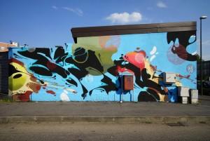 Artisti vari, 2018, via Valdellatorre/via Sansovino/corso Molise
