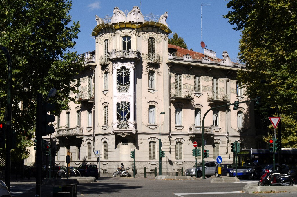 Casa fenoglio la fleur museotorino - Casa stile liberty ...