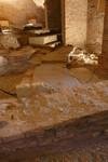 Particolare della cavea nel sotterraneo della nuova Manica di palazzo Reale. © Soprintendenza per i Beni Archeologici del Piemonte e del Museo Antichità Egizie