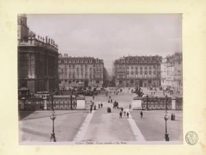Veduta di piazzetta Reale e piazza Castello. © Archivio Storico della Città di Torino