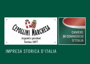 Cepollini Marchesa di F.lli Sestini, Argenti e preziosi, impresa storica