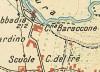 Cascina Baraccone. Istituto Geografico Militare, Pianta di Torino e dintorni, 1911. © Archivio Storico della Città di Torino