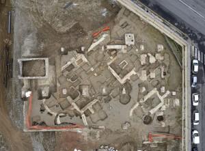 Fine scavo archeologico, cantiere Lavazza, 2014 © Soprintendenza Archeologia del Piemonte