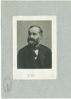 Quintino Sella, fotografia. © Archivio Storico della Città di Torino