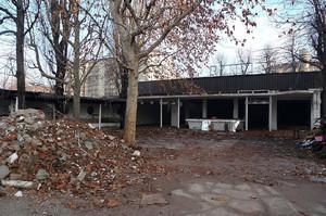 La demolizione del dancing nel 2009. CittAgorà, periodico del Consiglio Comunale.©Comune di Torino.