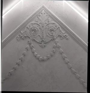 Piodi, filati, particolare del soffitto, 1998 © Regione Piemonte