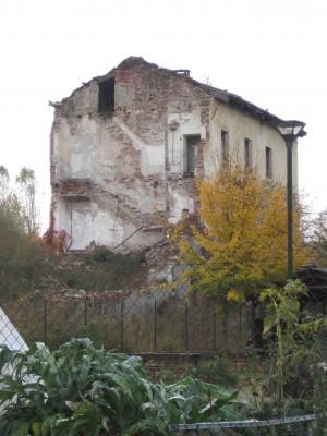 Lato Nord della cascina Meisino. Fotografia di Carlotta Venegoni, 2012.