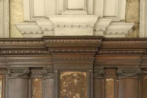 London Impermeabili della sartoria Morbidelli, particolare della devanure, Fotografia di Marco Corongi, 2005 ©Politecnico di Torino