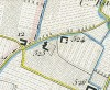 Cascina Bianco e cascina San Paolo. Topografia della Città e Territorio di Torino, 1840. © Archivio Storico della Città di Torino