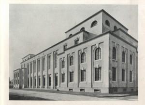 Il progetto appena terminato dell'ex Casa centrale del Balilla, ora SUISM (da «Torino», n. 6, giugno 1929).