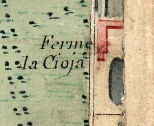 Cascina Gioia. Catasto Napoleonico, 1805. © Archivio di Stato di Torino.