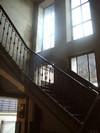 Casa coniugi Chiavazza, interno: scale. Fotografia di Roberto Orlandini.