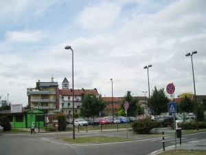 Falegnameria Borio e abitazioni, via Livorno 37
