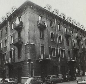 Edificio di civile abitazione - Via Buniva 4, Via Artisti
