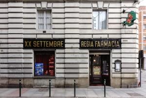 Regia Farmacia XX Settembre, esterno, 2017 © Archivio Storico della Città di Torino