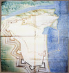 Ercole Negro di Sanfront. Progetto per un ampliamento della città di Nizza Marittima. © Service Historique de l'Armée de Terre di Parigi.