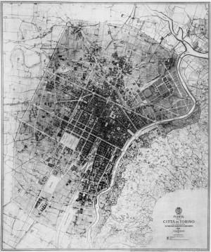 Piano Regolatore Generale approvato nel 1906.Archivio Storico della Città di Torino, Tipi e disegni. © Archivio Storico della Città di Torino