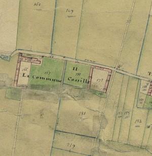 Cascina Cossilla. Catasto Gatti, 1820-1830. © Archivio Storico della Città di Torino