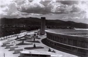 Stadio Mussolini, 17 maggio 1933. Fondazione Torino Musei, Archivio Fotografico, Fondo Mario Gabinio. © Fondazione Torino Musei