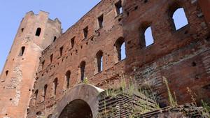 La Porta Palatina (5). Fotografia di Plinio Martelli, 2010. © MuseoTorino.