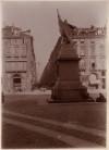 Vincenzo Vela, Monumento all'Alfiere dell'Esercito Sardo, 1856. Fotografia di Mario Gabinio, 1900 ca. © Fondazione Torino Musei.