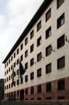 Scuola di Applicazione e Istituto di Studi Militari, Palazzo Gastone Simoni, fronte su corso Matteotti. Fotografia di Caterina Franchini