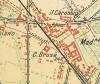 Cascina Casa Gilardoni Sondrio.Istituto Geografico Militare, Pianta di Torino e dintorni, 1911, © Archivio Storico della Città di Torino