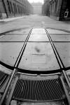 OGR. Piattaforma girevole per lo smistamento dei Carri, anni '80-'90. Fotografia Pier Paolo Viola. © Museo Ferroviario Piemontese per MuseoTorino