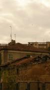 Dettaglio della casa padronale e di parte della manica settentrionale della cascina Nuova di corso Unione Sovietica. Fotografia di Edoardo Vigo, 2012.