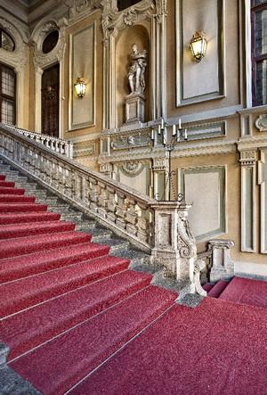 Dettaglio dell'atrio di Palazzo Barolo. Fotografia di Mattia Boero, 2010. © MuseoTorino.