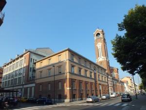 Chiesa della Madonna della Divina Provvidenza, lato via Valentino Carrera. Fotografia di Paola Boccalatte, 2013. © MuseoTorino